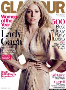 Lady Gaga Cover Glamour