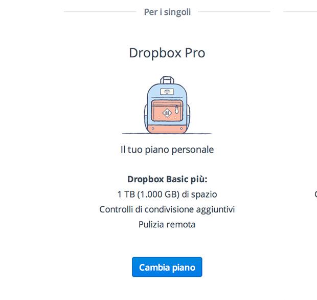 Dropbox - nuovi -contratti