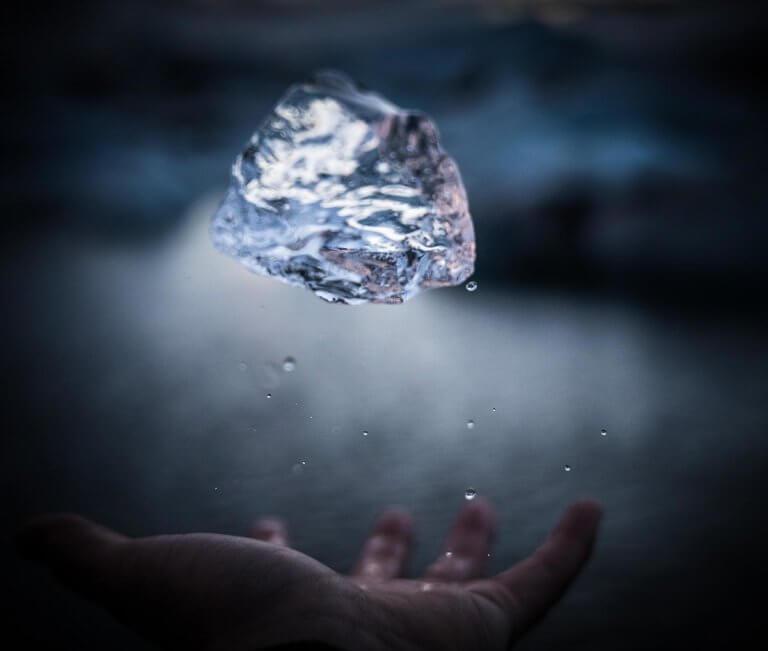 Blockchain Diamanti Diamonds business art