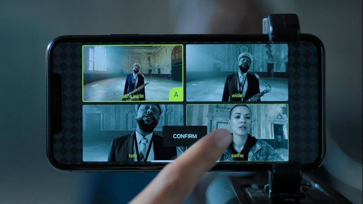 Iphone11Pro FilmicPro Multicam